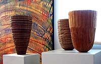 Mark Lindquist - Group of Three Vessels
